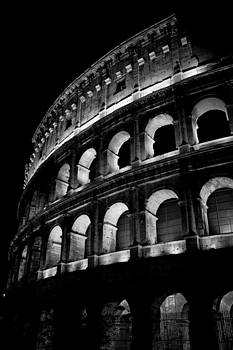 Colosseum at night by Ron Sumners