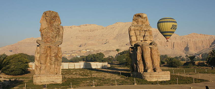Colossi of Memnon by Olaf Christian