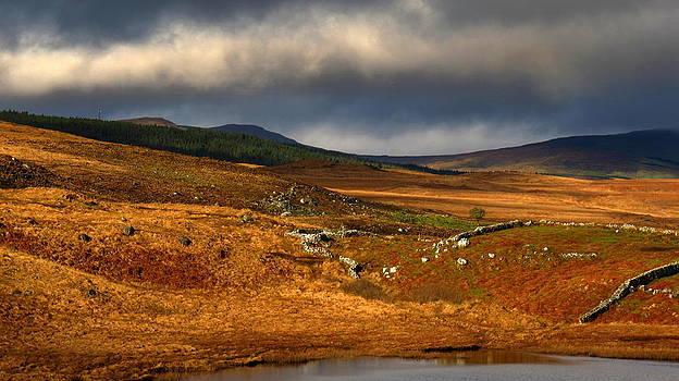 Connemara landscape by Annie  Japaud