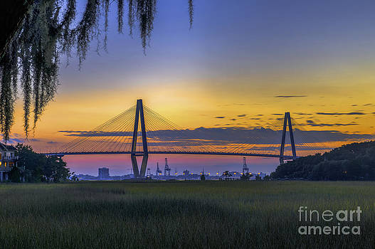 Dale Powell - Spanish Moss Charleston Bridge View