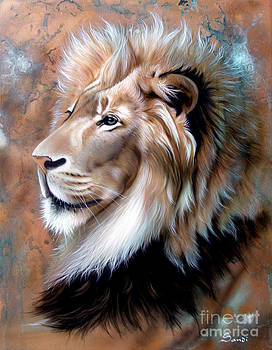 Copper King - Lion by Sandi Baker