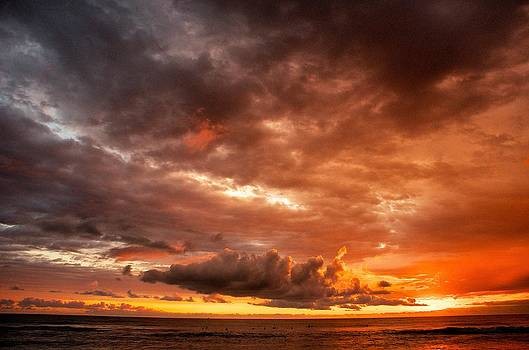 Costa Rica Sunset by Gary Campbell