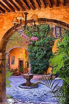 Courtyard by Nicola Fiscarelli