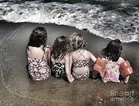 Cousins At The Beach by Mary Barrett