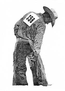 Cowboy 1 by David Doucot