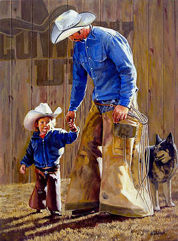 Cowboy UP by Ronald Wilkinson