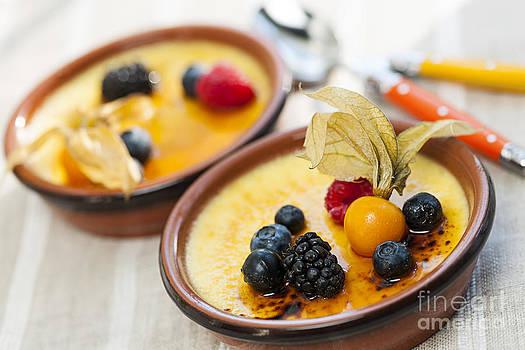 Elena Elisseeva - Creme brulee dessert