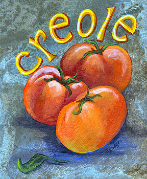 Creole Tomatoes by Elaine Hodges