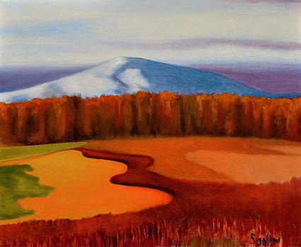 Crisp Fall Field by Gloria Cigolini-DePietro