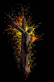 Crucifixion by Carol and Mike Werner