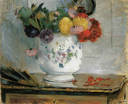 Berthe Morisot - Dahlias
