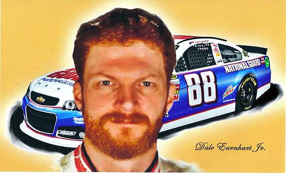 Dale Earnhardt Jr. by William Cox