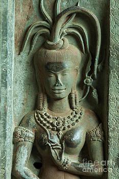Fototrav Print - Dancing goddesses carving at Angkor Wat Cambodia