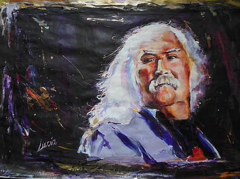 David Crosby by Lucia Hoogervorst