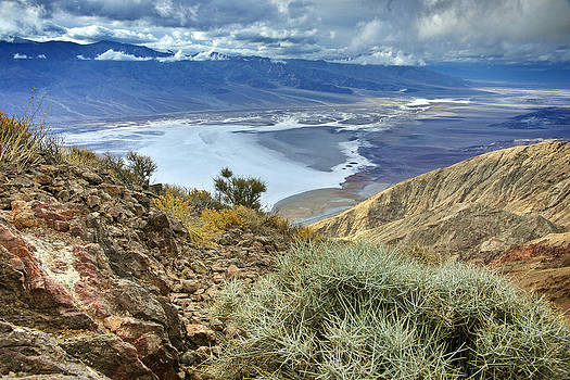 Death Valley from Dantes View by Ken Hornbrook