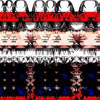 #decim8 #abstract #glitchart by Mary Welsch