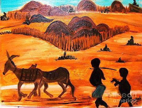 Desert by Sonali Singh