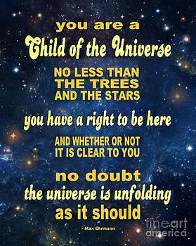 Ginny Gaura - Desiderata - Child of the Universe - Space