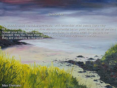 Desiderata by Conor Murphy