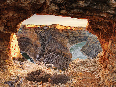 Devil Canyon View by Leland Howard