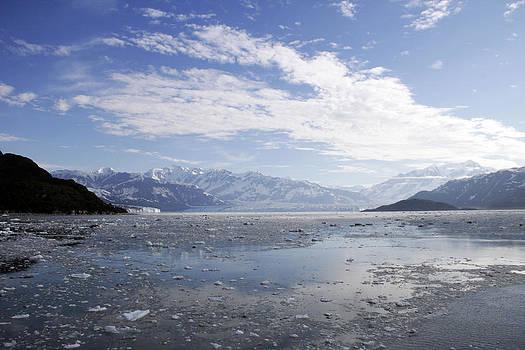 Distant Glacier by Gladys Turner Scheytt