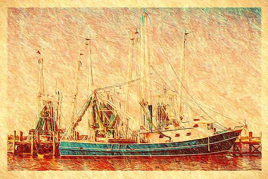 Barry Jones - Shrimp Boat - Dock - Dockside