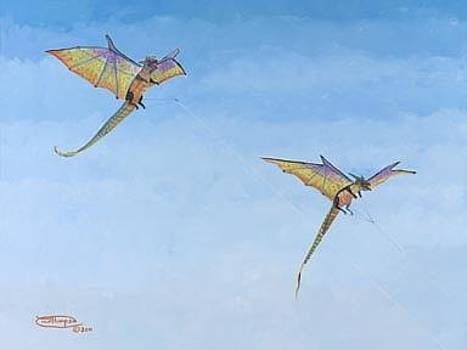 Double Dragons by Carol Thompson