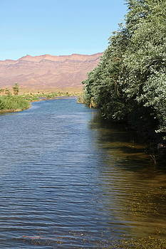 Draa River Morocco by Sophie Vigneault