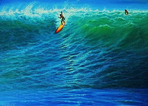 Dropping In by Joseph   Ruff