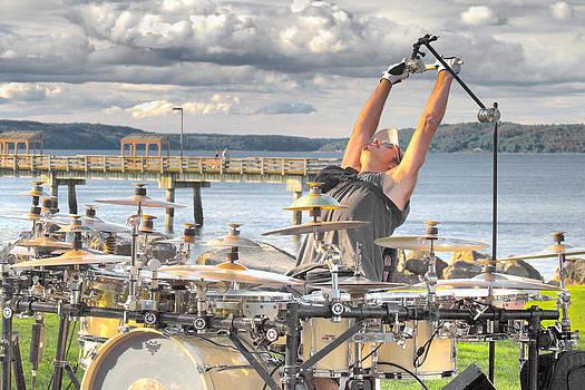 Drummer by Matthew Ahola
