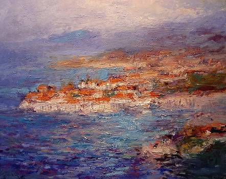 Dubrovnik in the Afternoon by R W Goetting