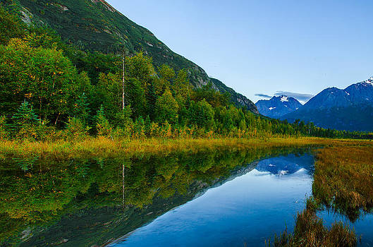 Eagle River Valley by Kyle Lavey