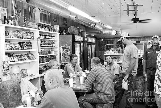 Eating Lunch at Depot Bottom Country Store by   Joe Beasley