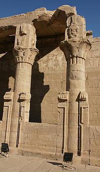 Edfu Temple by Olaf Christian