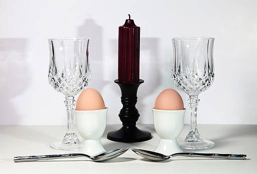 Eggs and Candle by Cecil Fuselier