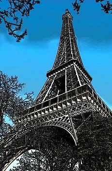 Eiffel Tower by Galexa Ch