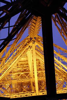 Eiffel Tower - Paris France - 011310 by DC Photographer
