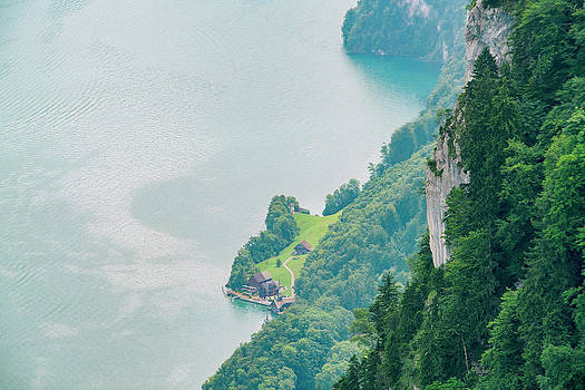 Elevated†view†of†lucerne†lake by Tamboly Photodesign
