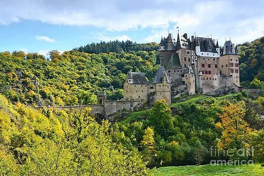 Eltz Castle by Gisela Scheffbuch