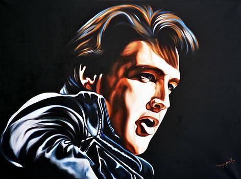 Elvis Presley by Hector Monroy
