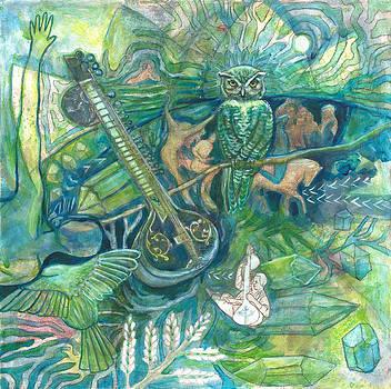 Emerald Wisdom by Elizabeth D'Angelo