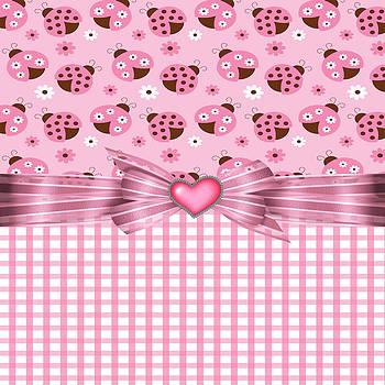 Debra  Miller - Enchanted Pink Ladybugs
