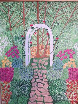 English Garden by Sandra Spincola