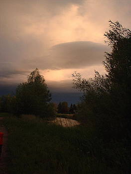 Evening Sky by Yvette Pichette