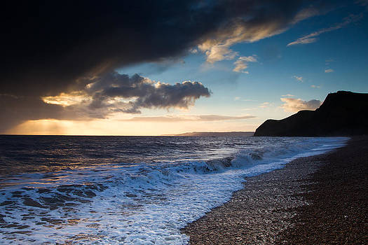Eype Beach Dorset by Chris  Clark