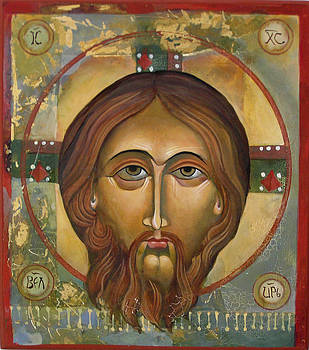 Face of Christ by Mary jane Miller