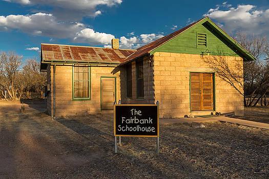 Fairbank Schoolhouse by Beverly Parks