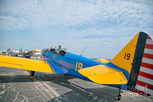 Fairchild PT-19 by Joenne Hartley