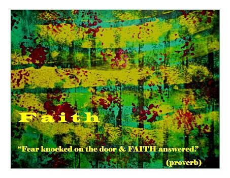 Faith by Luz Elena Aponte