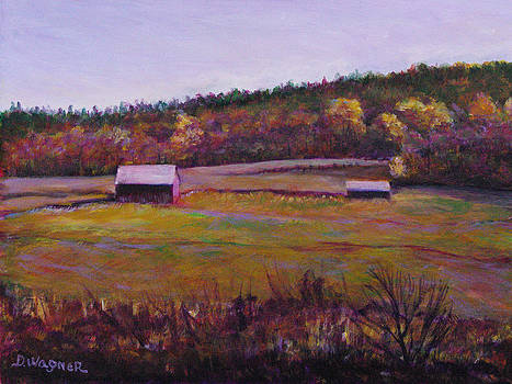 Fall Fields by Denise Wagner